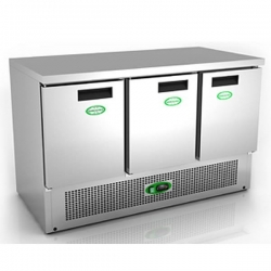 Genfrost G903SS 3 Door Chiller Counter