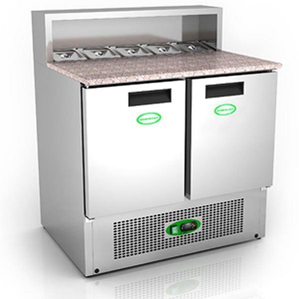 Genfrost GP900 2 Door Prep Counter