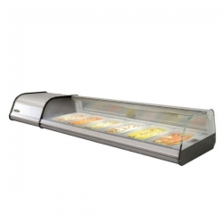 Infrico VET6P 1.6m Counter Top Display