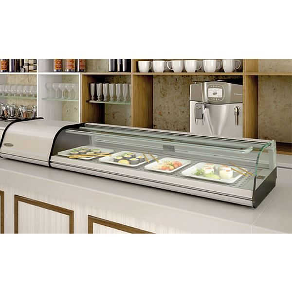Infrico VSU8P Counter Top Sushi Display