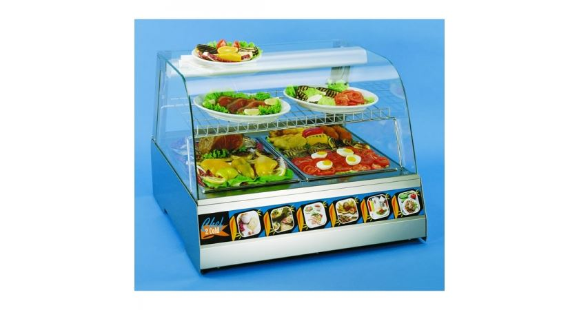 Interlevin Chef 4 1.4m Heated Counter Top Display Cabinet