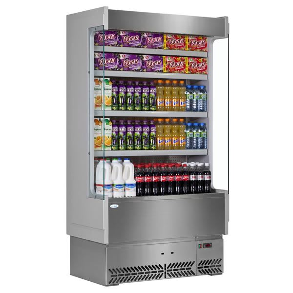 Interlevin SP60-100X Stainless Steel Slimline Multideck