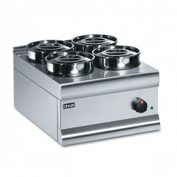 Lincat Silverlink BS4 4 Pot Bain Marie