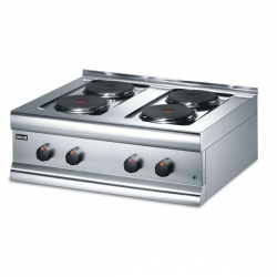 Lincat Silverlink HT7 0.8m 4 Burner Electric Boiling Top