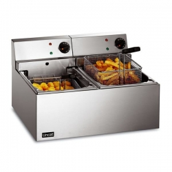 Lincat Lynx 0.5m Counter Top Twin Tank Fryer