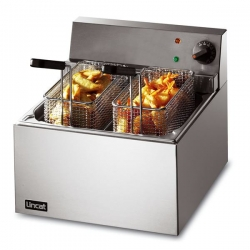 Lincat Lynx 400 0.4m Single Tank Counter Top Fish Fryer