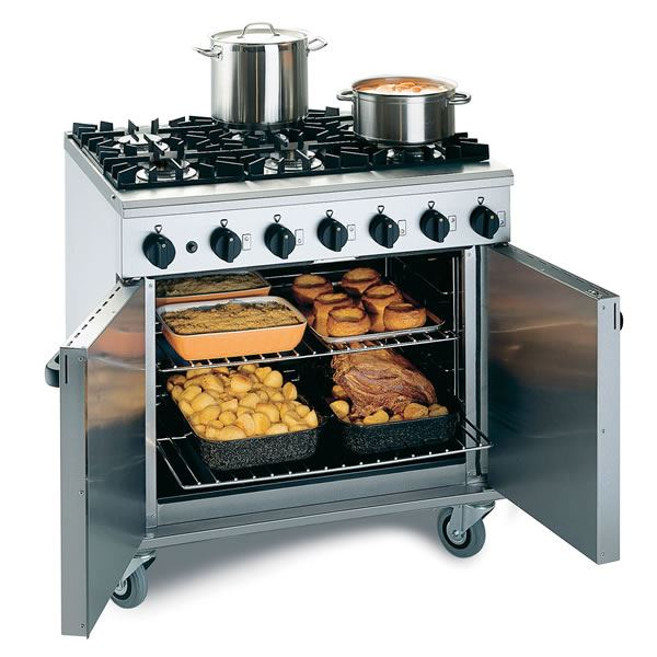 Lincat LMR9 Gas Oven Range 6 Burner