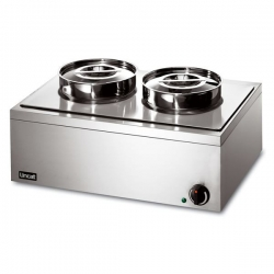Lincat LRB2W 2 Pot Lynx Wet Heat Round Pot Bain Marie