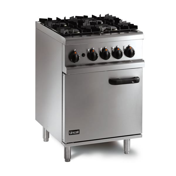 Lincat Opus 700 OG7001 Gas Oven Range 4 Burner
