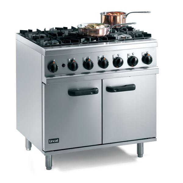 Lincat Opus 700 OG7002 Gas Oven Range 6 Burner