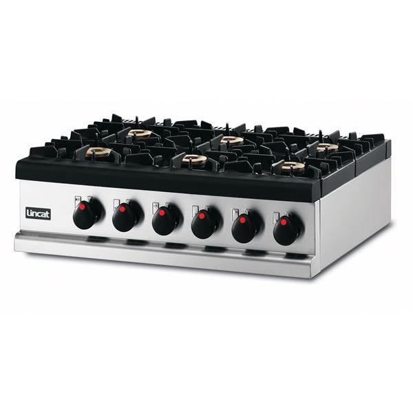 Lincat Opus OG7004 6 Burner Boiling Top