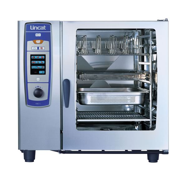 Lincat OSCWE102/P 10 x 2/1 Pan SelfCooking Center LPG Combi Oven