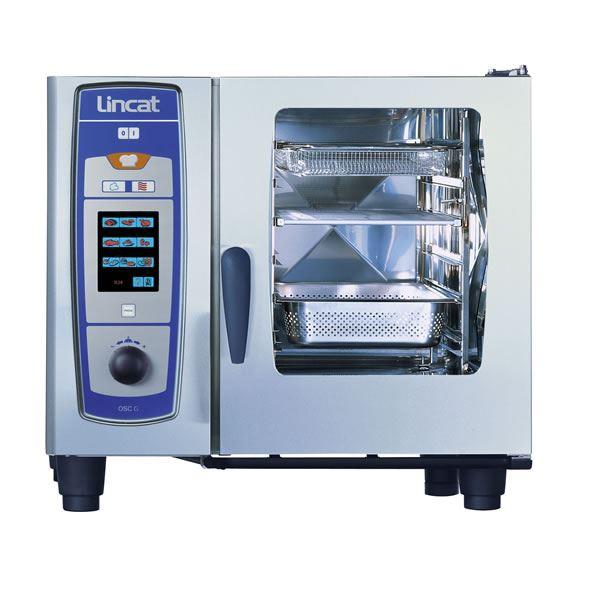 Lincat OSCWE61/N 6 x 1/1 Pan SelfCooking Center Natural Gas Combi Oven