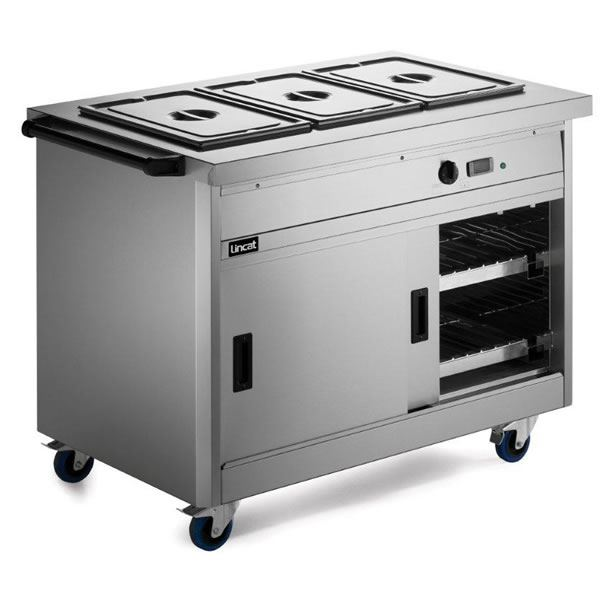 Lincat Panther P6B3 Hot Cupboard with Bain Marie
