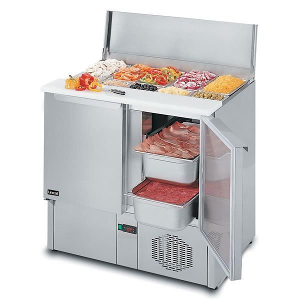 Lincat PS950 Pizza and Sandwich Prep Station