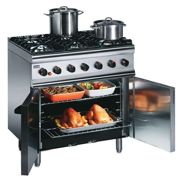 Lincat SLR9 Gas Oven Range 6 Burner