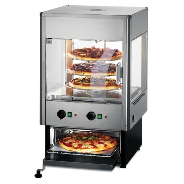 Lincat Upright Heated Merchandiser with Oven
