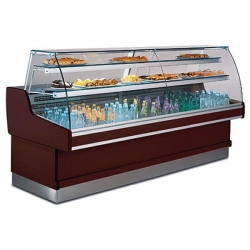 Mafirol Ravel 1420VCR 1.5m Curved Glass Serve Over Counter