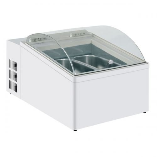 ... Display Freezers Mondial Elite ICE 2V Counter Top Ice Cream Freezer