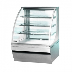 Norpe Saga-135-HC-STS 1.35m Stainless Steel Humidity Controlled Chocolate Display