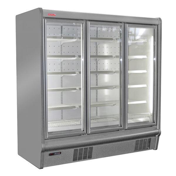 Oscartielle Argus 200BT Triple Door Display Freezer