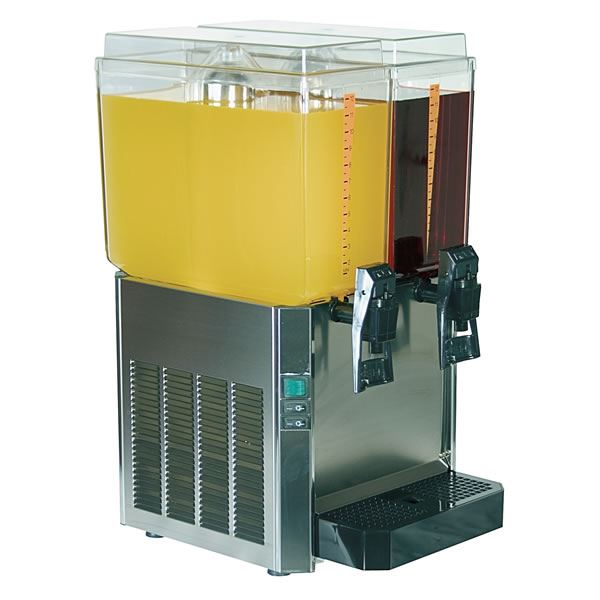 Promek VL223 Dual Tank Juice Dispenser
