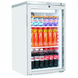 Tefcold BC145 0.5m Single Door Undercounter Display Fridge