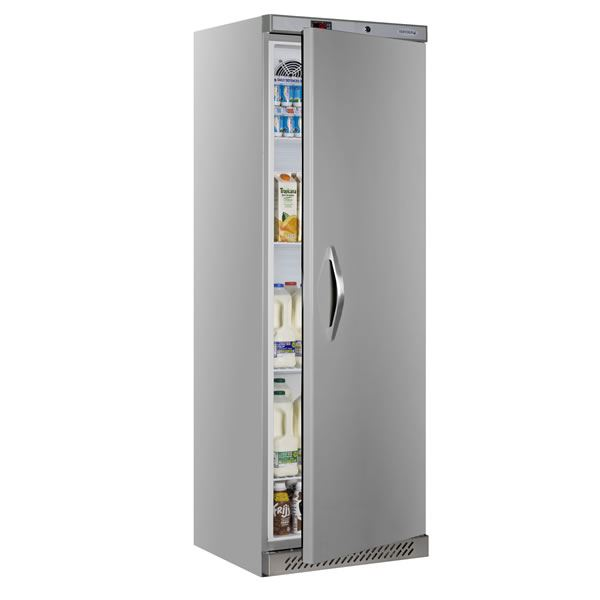 Tefcold UR400S Stainless Steel Single Door Fridge