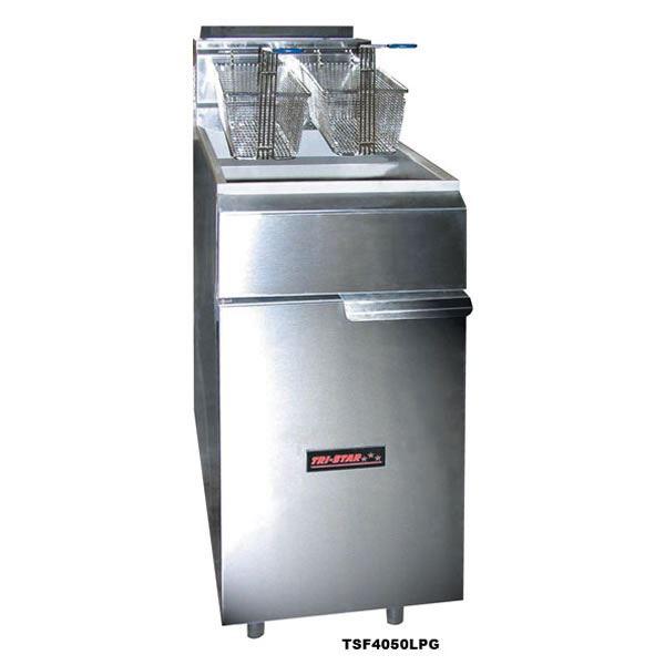 Tri Star Heavy Duty Gas Fryer