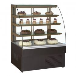 Trimco Zurich 120 1.2m Pastry Display Fridge