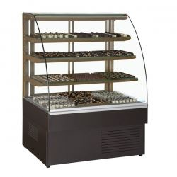 Trimco Zurich 120CHOC 1.2m Chocolate Display Fridge