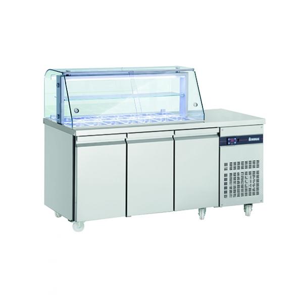 INOMAK ZQ 999 Refrigerated Saladette Display