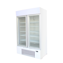 Kool F900 Double Door Upright Display Freezer
