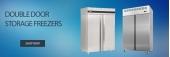 Double Door Storage Freezers