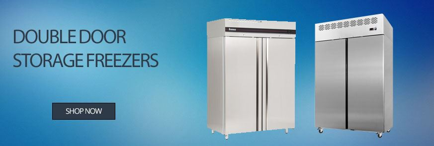 Double Door Storage Freezers