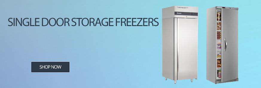 Single Door Storage Freezers