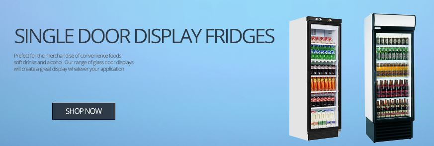 Single Door Display Fridges