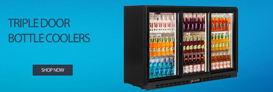 Triple Door Bottle Coolers