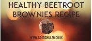 Healthy Beetroot Brownies Recipe