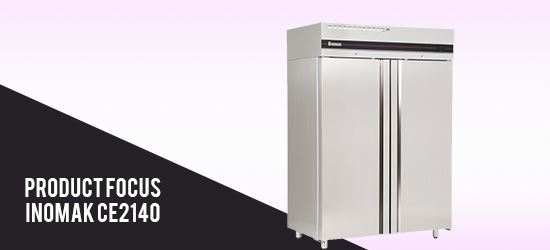 Product Focus: Inomak CE2140 Double Door Storage Fridge