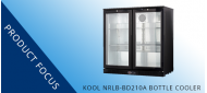 Product Focus: KOOL NRLB-BD210A HINGED DOUBLE DOOR BOTTLE COOLER