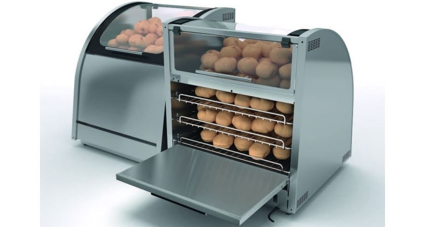 Counterline Vision VBOR Baking & Display Oven (Rear Loading Model)