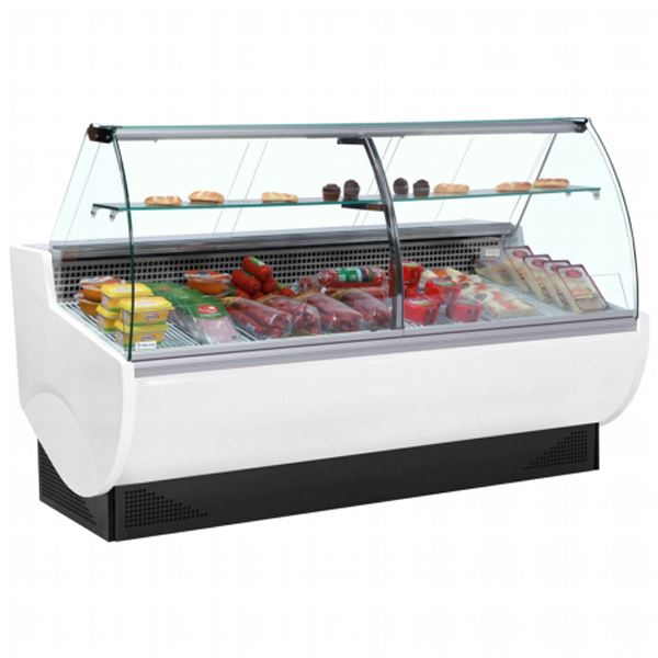 Frilixa Vista II 20C 2.0m Curved Glass Serve Over