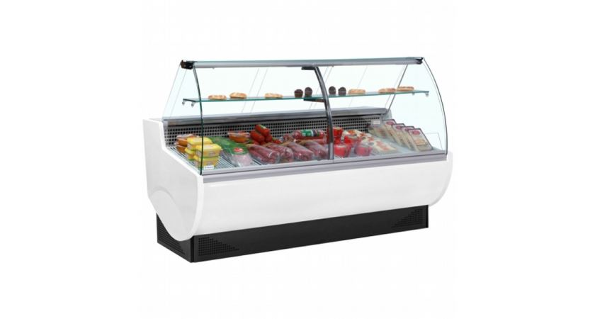 Frilixa Vista II 30C 3.0m Curved Glass Serve Over