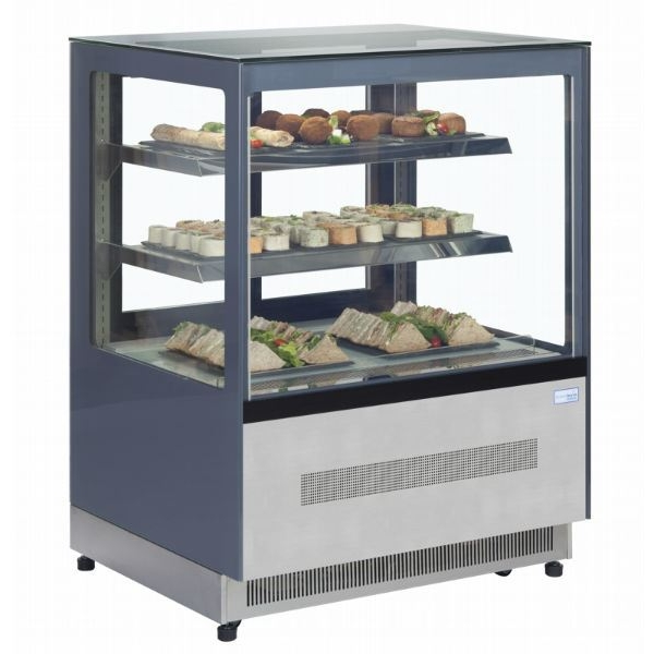 Interlevin LPD1200F 1.2m Chilled Flat Glass Display Cabinet