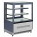 Interlevin LPD900F 0.9m Chilled Flat Glass Display Cabinet