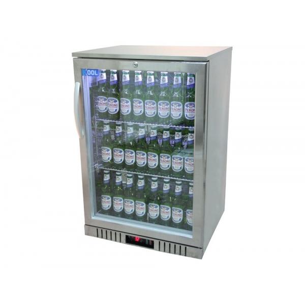 Kool nrlst ic a stainless steel single door bottle