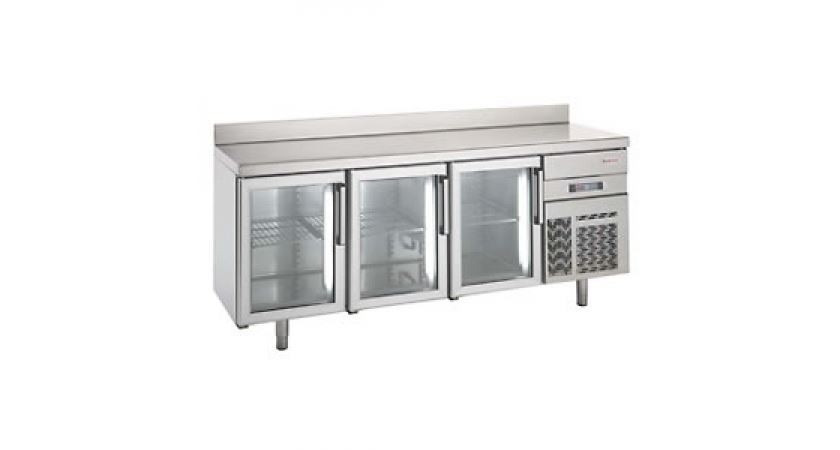 Infrico 700 BMGN 2450 CRISTAL Glass Door Fridge Counter
