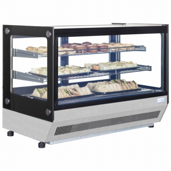 Interlevin LCT900F Stainless Steel Counter Top Display