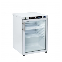 Blizzard HG200WH Glass Door Refrigerator